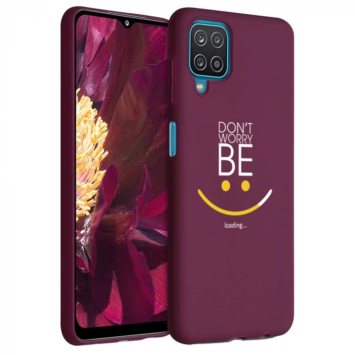 Husa Samsung Galaxy A12 - A42  - Silicon Matte - Don't Worry [5]