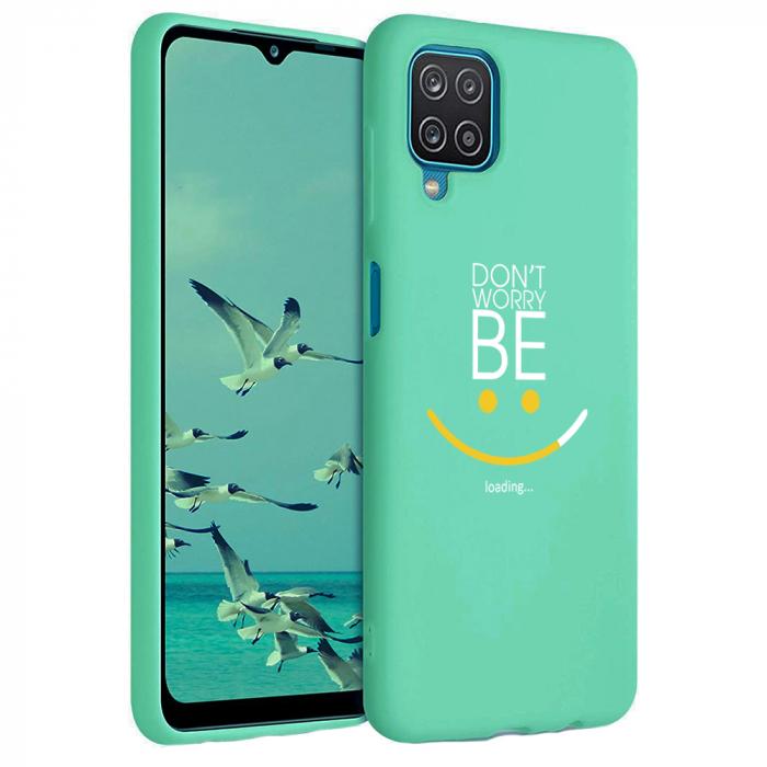 Husa Samsung Galaxy A12 - A42  - Silicon Matte - Don't Worry [2]