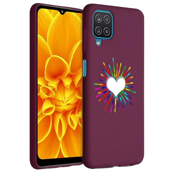 Husa Samsung Galaxy A12 - A42  - Silicon Matte - Heart 1 [1]