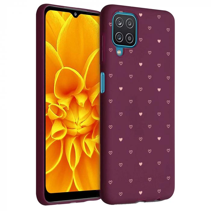 Husa Samsung Galaxy A12 - A42  - Silicon Matte - Heart 2 [1]