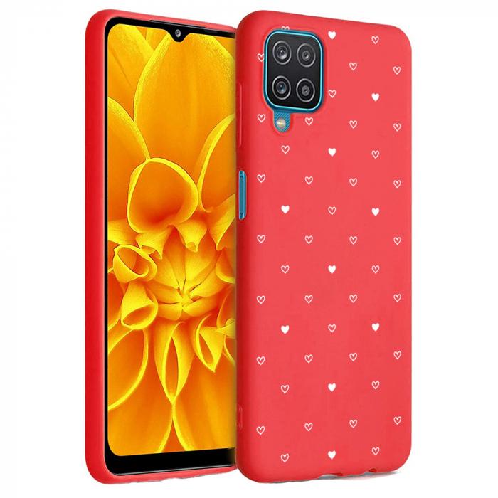 Husa Samsung Galaxy A12 - A42  - Silicon Matte - Heart 2 [2]