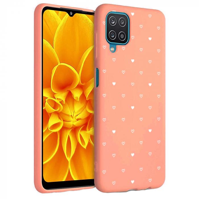Husa Samsung Galaxy A12 - A42  - Silicon Matte - Heart 2 [3]