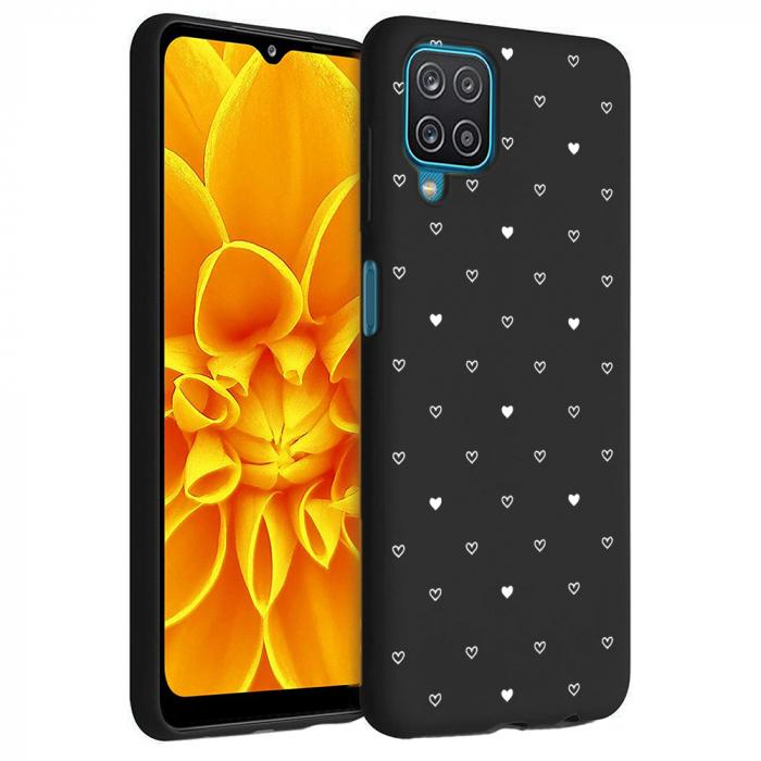 Husa Samsung Galaxy A12 - A42  - Silicon Matte - Heart 2 [6]