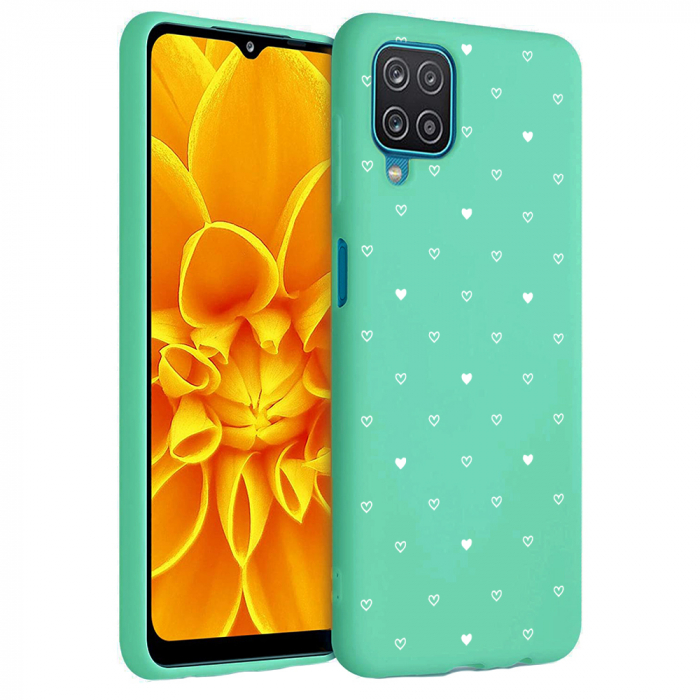 Husa Samsung Galaxy A12 - A42  - Silicon Matte - Heart 2 [0]
