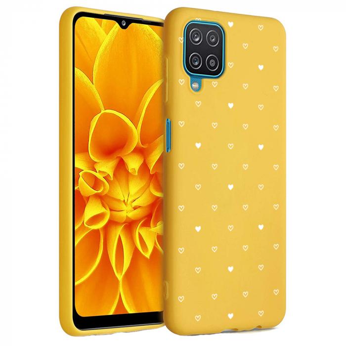 Husa Samsung Galaxy A12 - A42  - Silicon Matte - Heart 2 [5]