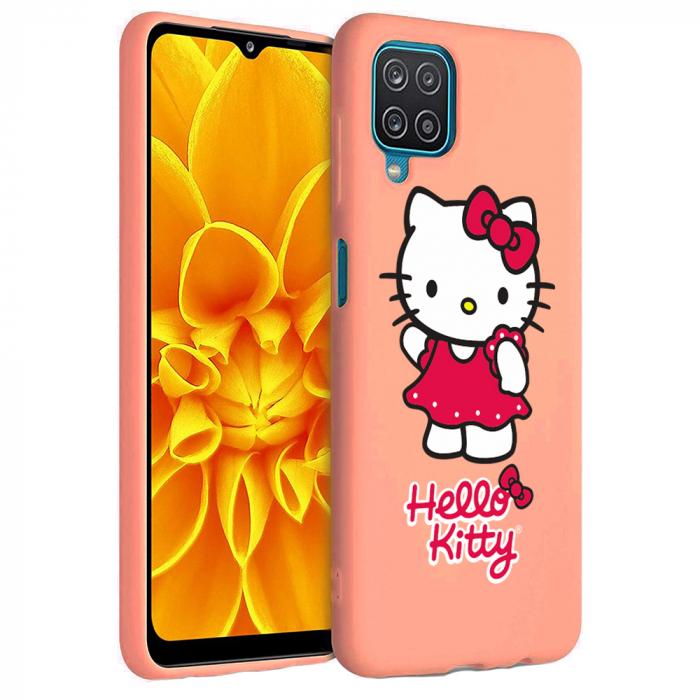 Husa Samsung Galaxy A12 - A42  - Silicon Matte - Hello Kitty [4]