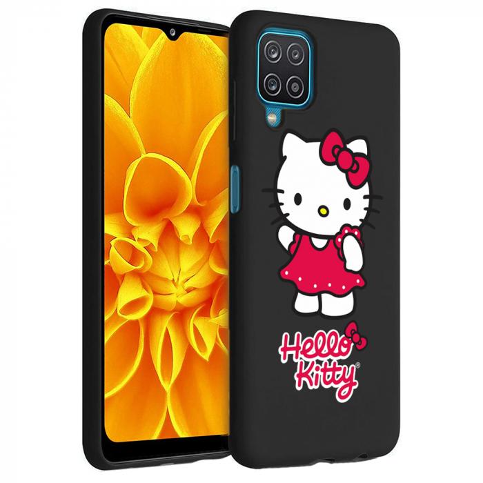 Husa Samsung Galaxy A12 - A42  - Silicon Matte - Hello Kitty [0]