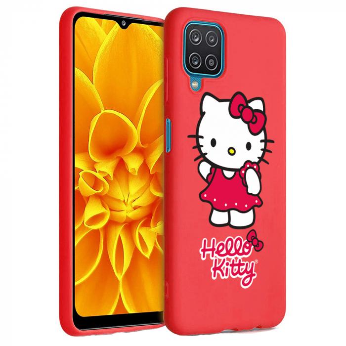 Husa Samsung Galaxy A12 - A42  - Silicon Matte - Hello Kitty [5]