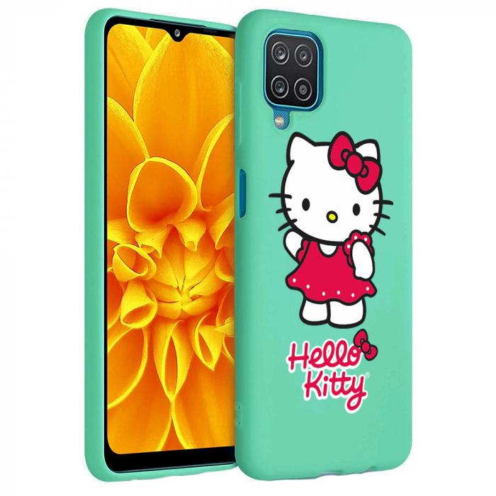Husa Samsung Galaxy A12 - A42  - Silicon Matte - Hello Kitty [2]