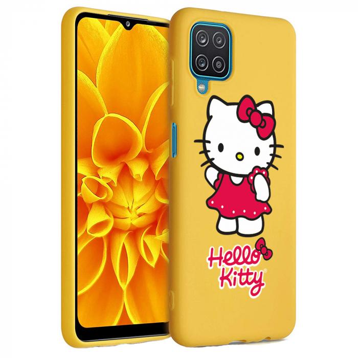 Husa Samsung Galaxy A12 - A42  - Silicon Matte - Hello Kitty [1]