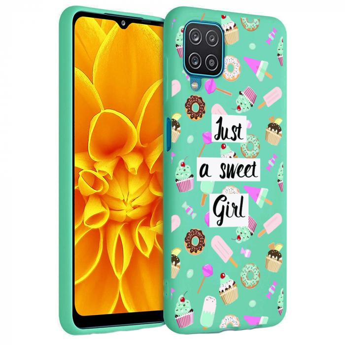 Husa Samsung Galaxy A12 - A42  - Silicon Matte - Just a sweet girl [4]