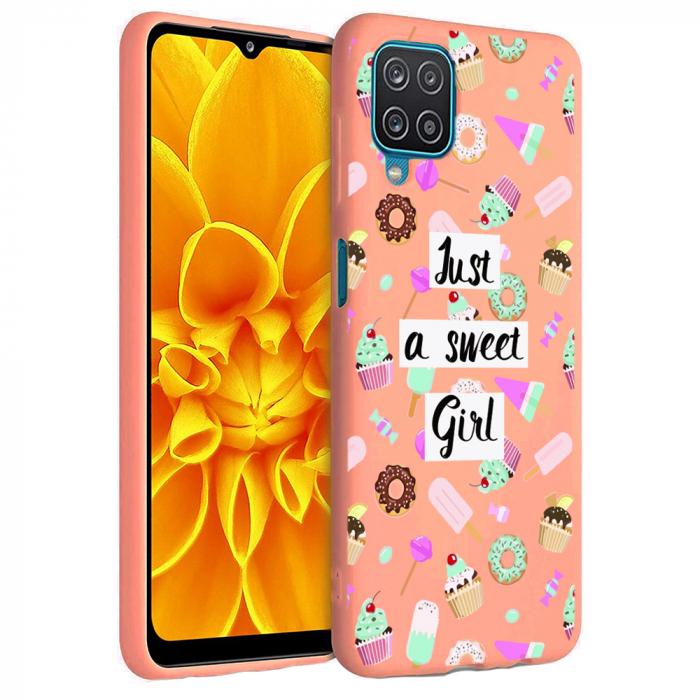 Husa Samsung Galaxy A12 - A42  - Silicon Matte - Just a sweet girl [6]
