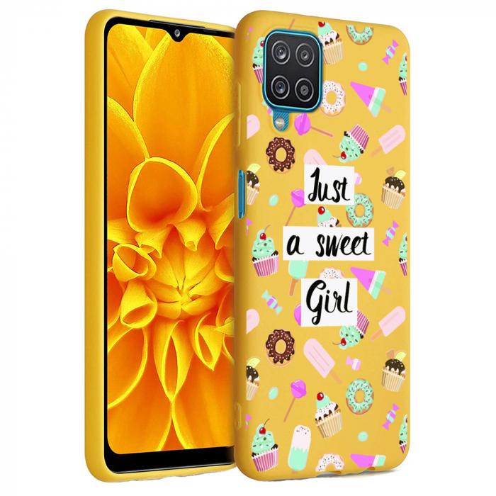 Husa Samsung Galaxy A12 - A42  - Silicon Matte - Just a sweet girl [2]