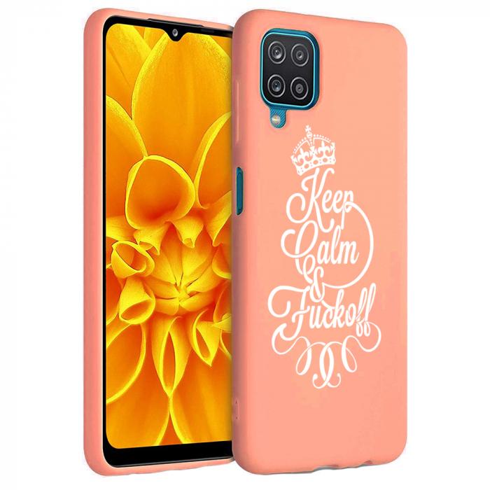 Husa Samsung Galaxy A12 - A42  - Silicon Matte - Keep Calm [3]