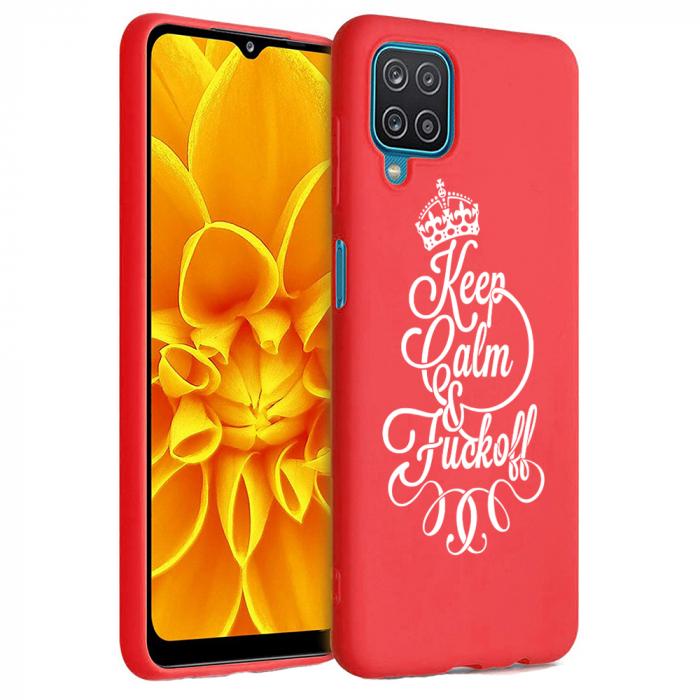 Husa Samsung Galaxy A12 - A42  - Silicon Matte - Keep Calm [2]