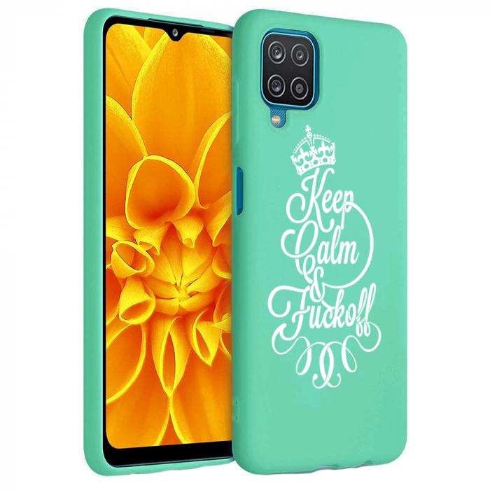 Husa Samsung Galaxy A12 - A42  - Silicon Matte - Keep Calm [4]