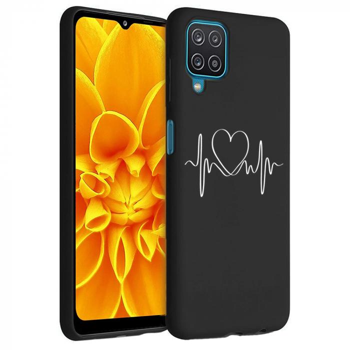 Husa Samsung Galaxy A12 - A42  - Silicon Matte - Life Line [5]