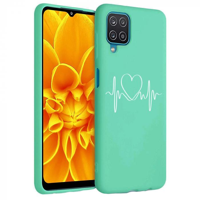 Husa Samsung Galaxy A12 - A42  - Silicon Matte - Life Line [4]