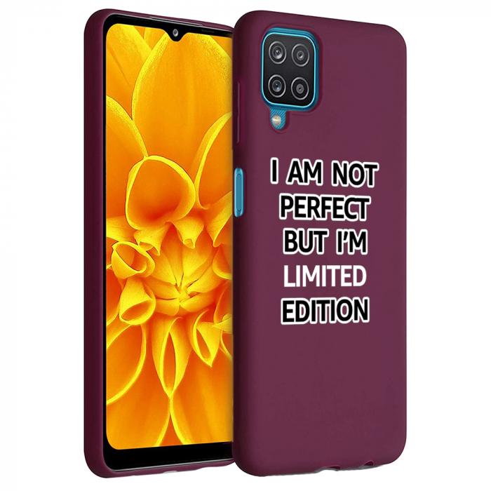 Husa Samsung Galaxy A12 - A42  - Silicon Matte - Limited edition [1]