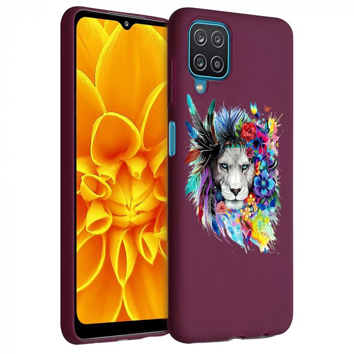 Husa Samsung Galaxy A12 - A42  - Silicon Matte - Lion 2 [6]