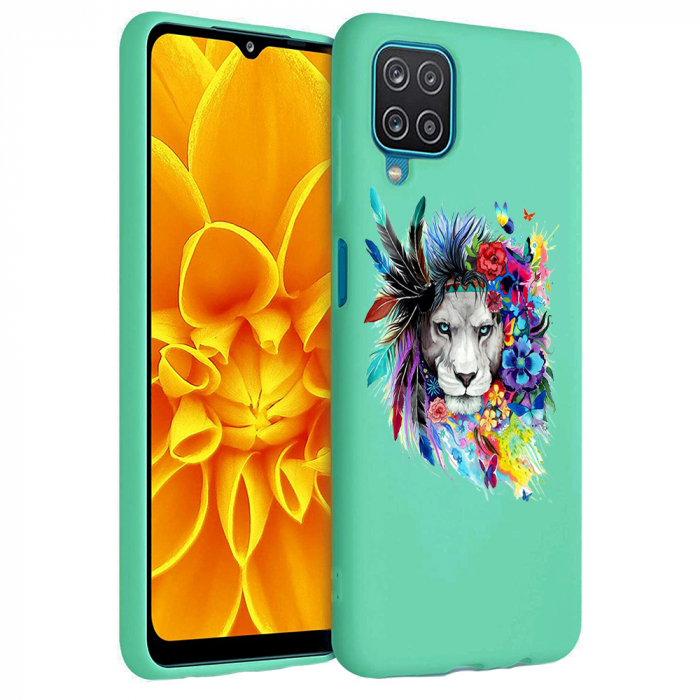 Husa Samsung Galaxy A12 - A42  - Silicon Matte - Lion 2 [3]
