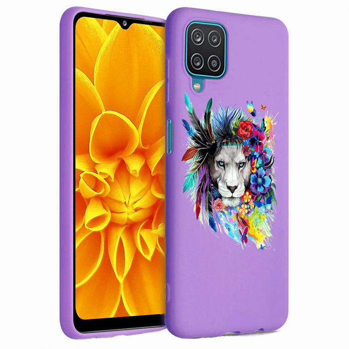 Husa Samsung Galaxy A12 - A42  - Silicon Matte - Lion 2 [4]