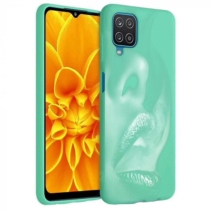Husa Samsung Galaxy A12 - A42  - Silicon Matte - Lips 1 [4]