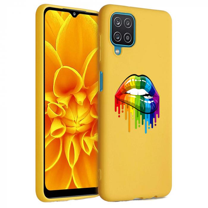 Husa Samsung Galaxy A12 - A42  - Silicon Matte - Lips 2 [6]