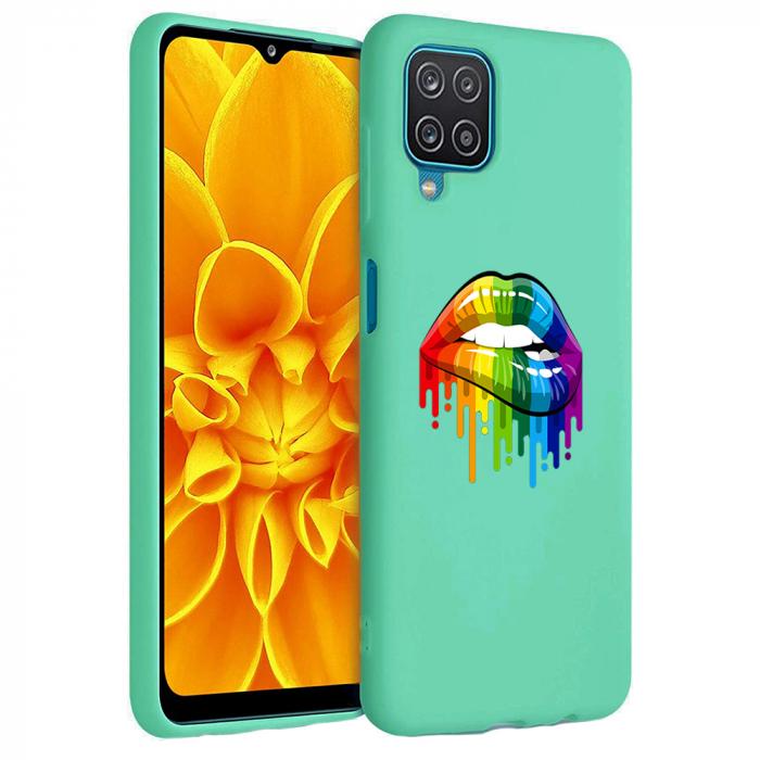 Husa Samsung Galaxy A12 - A42  - Silicon Matte - Lips 2 [4]