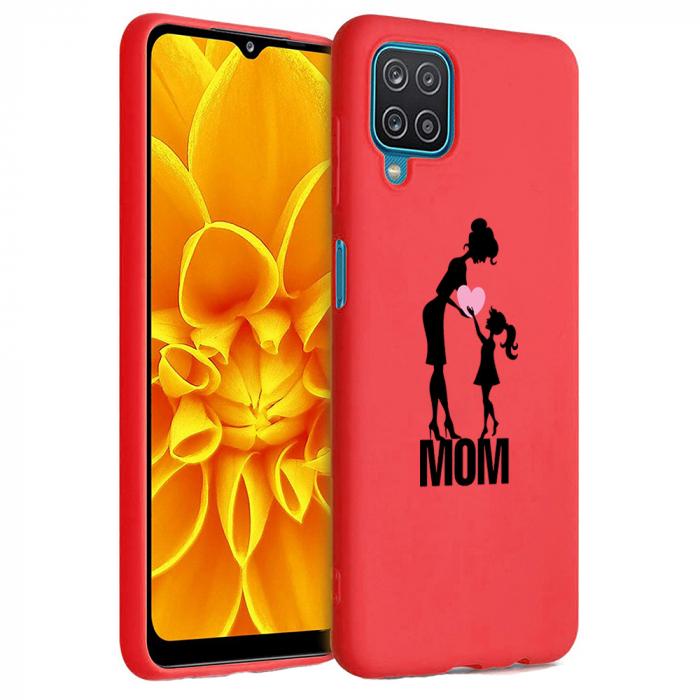 Husa Samsung Galaxy A12 - A42  - Silicon Matte - Love mom [2]