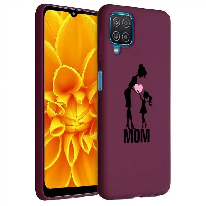Husa Samsung Galaxy A12 - A42  - Silicon Matte - Love mom [1]