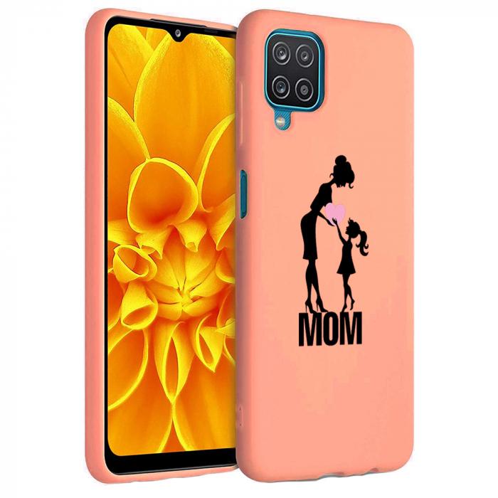 Husa Samsung Galaxy A12 - A42  - Silicon Matte - Love mom [3]