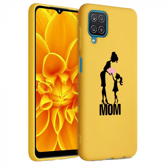 Husa Samsung Galaxy A12 - A42  - Silicon Matte - Love mom [5]
