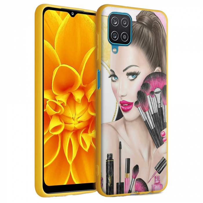 Husa Samsung Galaxy A12 - A42  - Silicon Matte - Make Up [6]