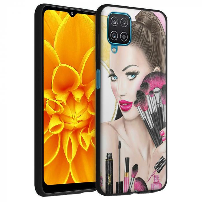 Husa Samsung Galaxy A12 - A42  - Silicon Matte - Make Up [0]