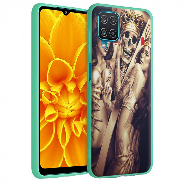 Husa Samsung Galaxy A12 - A42  - Silicon Matte - Poker King [4]