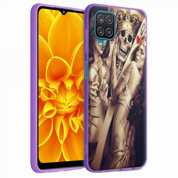 Husa Samsung Galaxy A12 - A42  - Silicon Matte - Poker King [3]