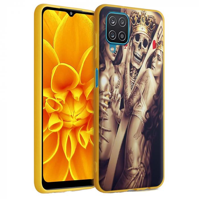 Husa Samsung Galaxy A12 - A42  - Silicon Matte - Poker King [6]
