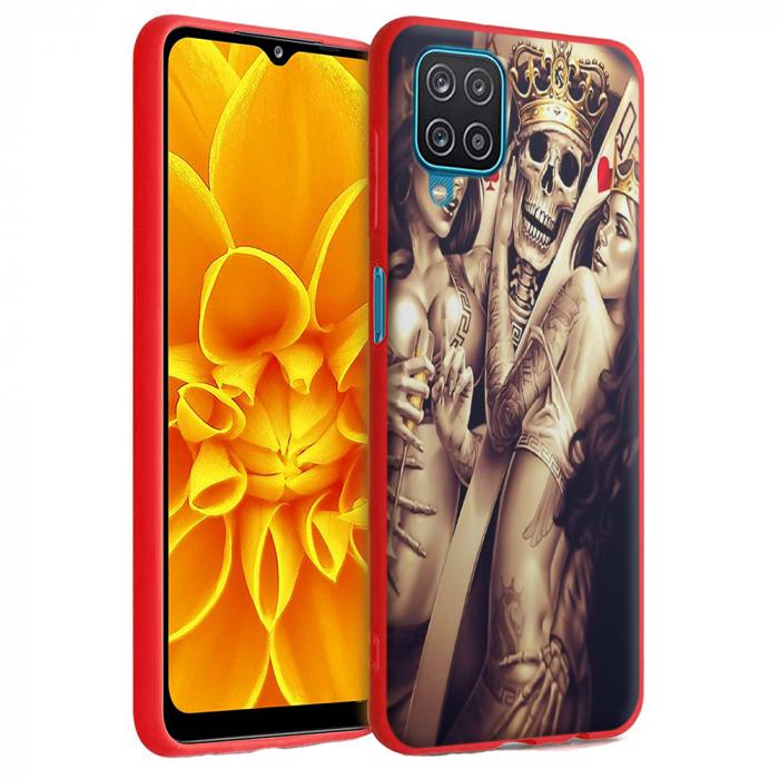 Husa Samsung Galaxy A12 - A42  - Silicon Matte - Poker King [2]