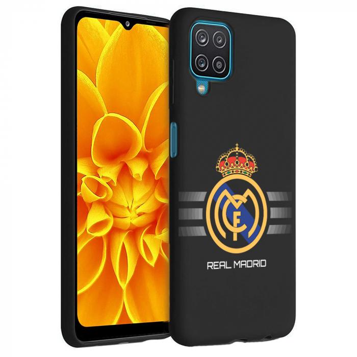 Husa Samsung Galaxy A12 - A42  - Silicon Matte - Real Madrid [0]