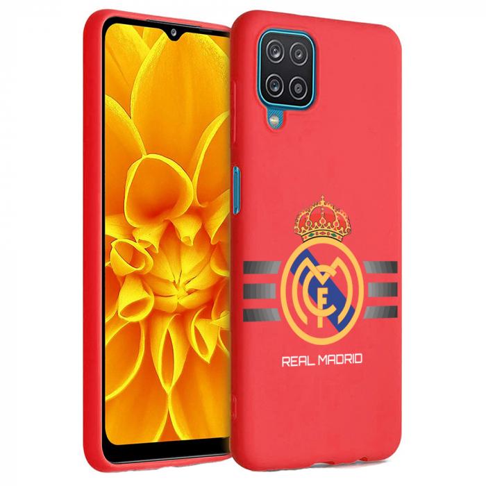 Husa Samsung Galaxy A12 - A42  - Silicon Matte - Real Madrid [2]