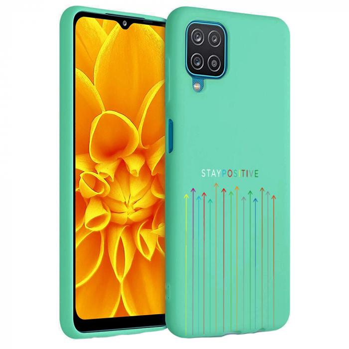 Husa Samsung Galaxy A12 - A42  - Silicon Matte - Stay Positive [3]