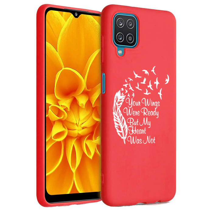 Husa Samsung Galaxy A12 - A42  - Silicon Matte - Your Wings [4]