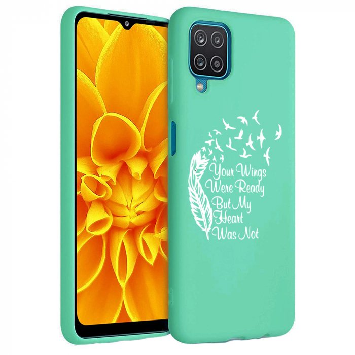 Husa Samsung Galaxy A12 - A42  - Silicon Matte - Your Wings [0]