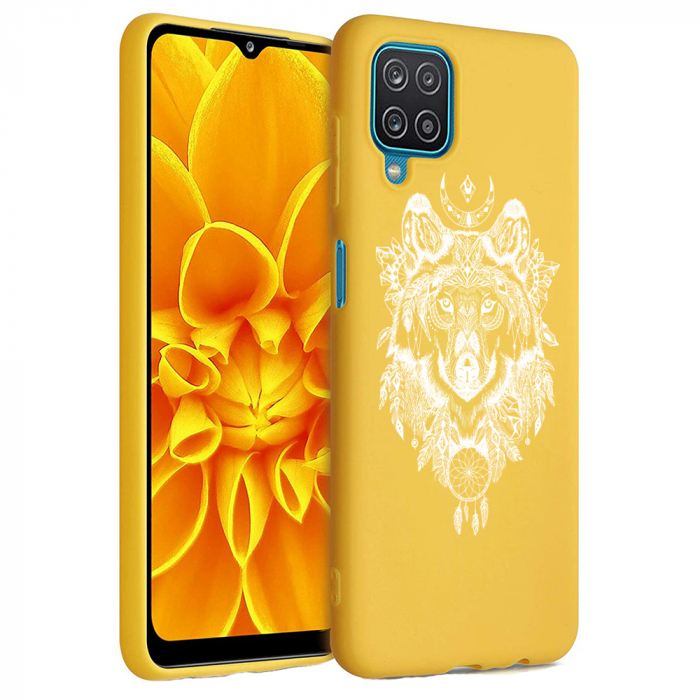 Husa Samsung Galaxy A12 - A42  - Silicon Matte - Wolf 1 [6]