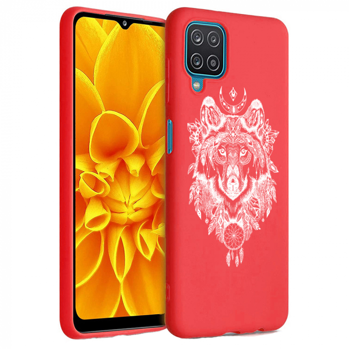 Husa Samsung Galaxy A12 - A42  - Silicon Matte - Wolf 1 [0]