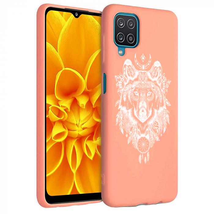 Husa Samsung Galaxy A12 - A42  - Silicon Matte - Wolf 1 [4]
