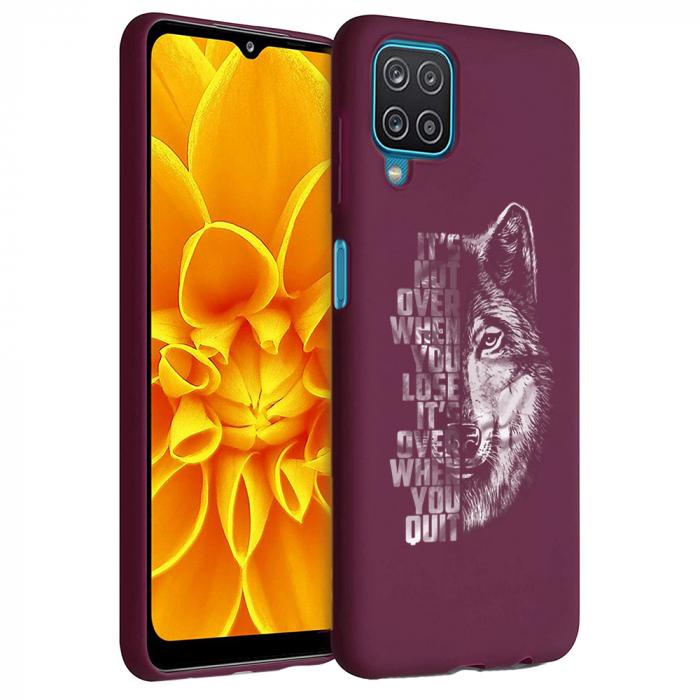 Husa Samsung Galaxy A12 - A42  - Silicon Matte - Wolf 2 [1]