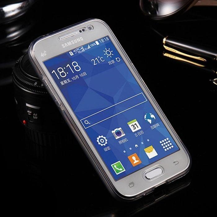 Husa  Samsung Galaxy A3 2017 Silicon TPU 360 grade - fumuriu 2