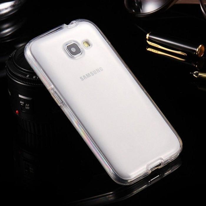 Husa  Samsung Galaxy A3 2017 Silicon TPU 360 grade - transparent 1